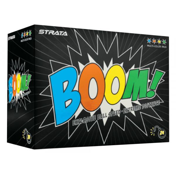 Мяч Callaway'9  STRATA  boom MULTI (24шт/уп) 2pc