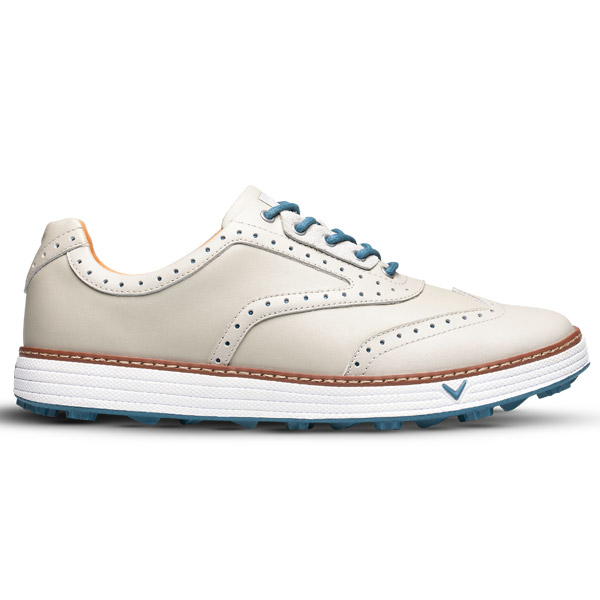 Ботинки (муж) Callaway'9  Del Mar Retro (серый) M573-289