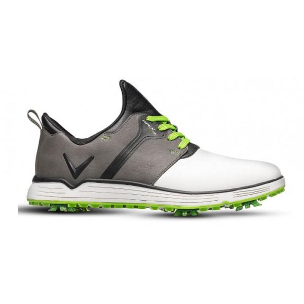 Ботинки (муж) Callaway'9  Apex Lite S (белый/cерый/зеленый) M571-55