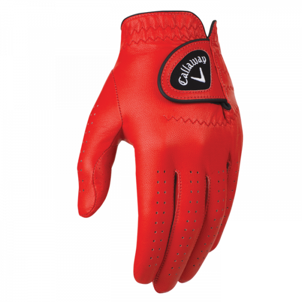 Перчатка (муж) Callaway'9  Opti Color  53191 (красный) LH