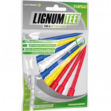 Ти Lignum'9  72мм (12 шт) цветные  30067