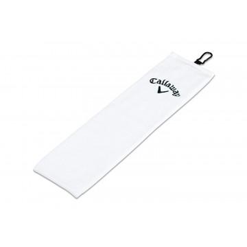 Полотенце Callaway'9  Tri-Fold CORP 16X21  5415111 (белый)