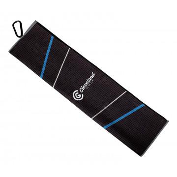 Полотенце Cleveland'9  Trifold 12102545  (черный/синий/серый)