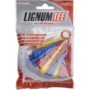 Ти Lignum'9  62мм (16 шт) цветные  30043