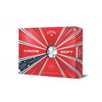 Мяч Callaway'9  CHROME SOFT TRUVIS (Star) (3шт/уп) 4pc