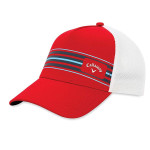 Бейсболка Callaway'9  STRIPE MESH  5219062 (красный/белый)