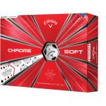 Мяч Callaway'9  CHROME SOFT TRUVIS (масти) (3шт/уп) 4pc