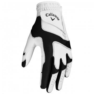 Перчатка (жен) Callaway'9  Opti Grip 53192 (2шт/уп) (белый/черный) LH/RH