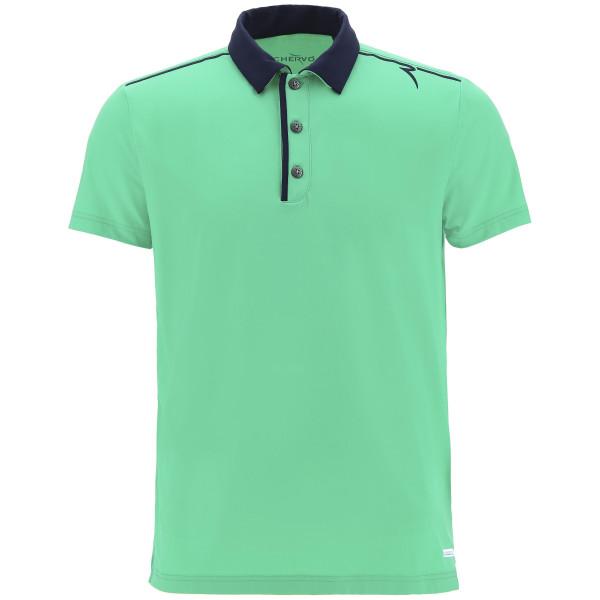 Поло (муж) Chervo'9  ACORUS (606) зеленый, 63539