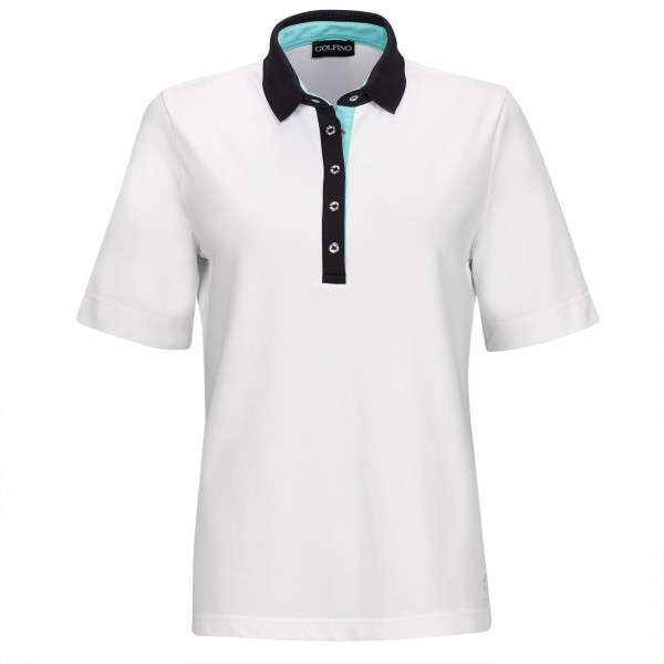 Поло (жен) Golfino'9  4330122 (100) белый
