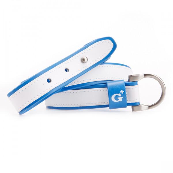 Ремень (муж) Golfino'16  4171152 (530) бело-синий