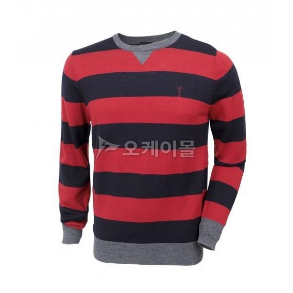 Пуловер (муж) Golfino'4 1210414 (580) синий/красный