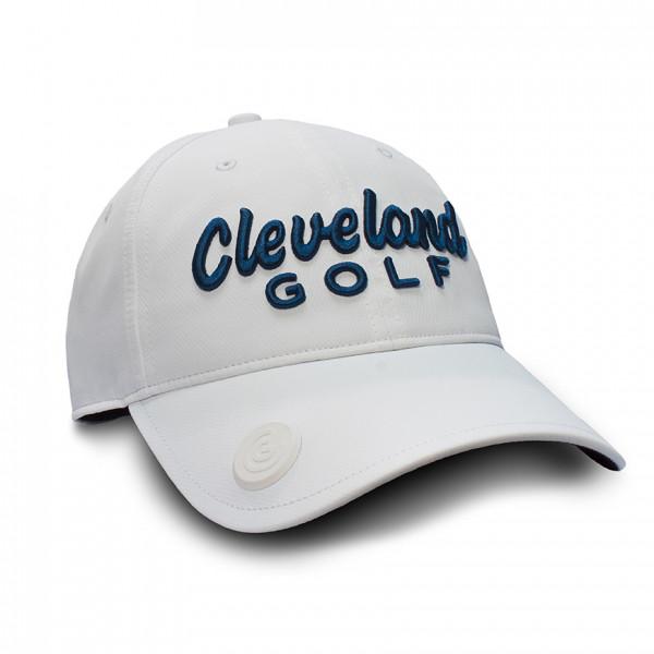 Бейсболка Cleveland'9  с маркером  102903 (белый) logo MGGK