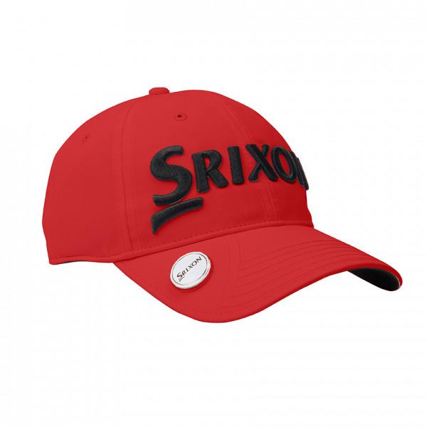 Бейсболка Srixon'9  BALL MARKER  110557 (красный/черный)