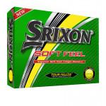 Мяч Srixon'9  SoftFeel (3шт/уп) желтый 2pc
