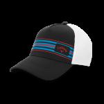 Бейсболка Callaway'9  STRIPE MESH  5219059 (серый/белый/голубой)