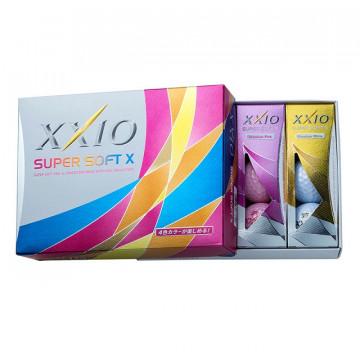 Мяч XXIO'9  SUPER SOFT X (упак из 12мячей) MIXED 3pc