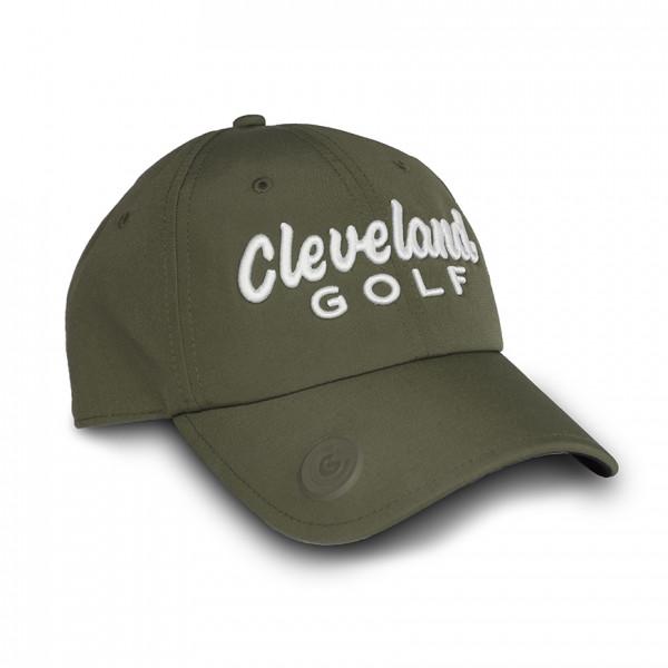 Бейсболка Cleveland'9  102972 (хаки/белый)