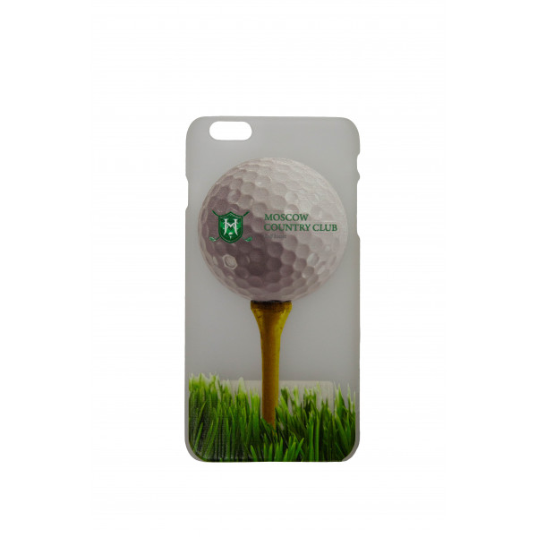 Чехол iphone 6+/Лого на мяче (матовый) MCC