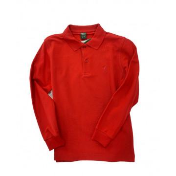Поло дл/рук (дет.) Golfino'16  3230234 (364) красный