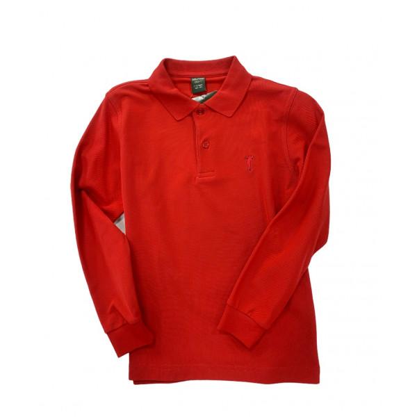 Поло дл/рук (дет) Golfino'17  3231334 (366) красный