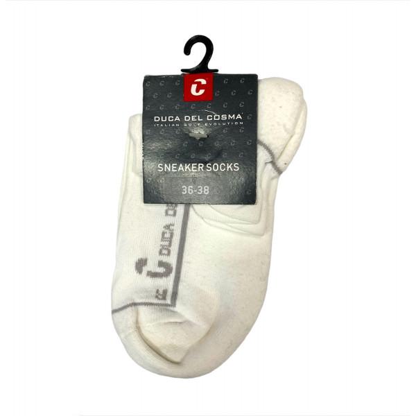 Носки (жен) DDC'4 Betty длин. (белый/серый) 50464