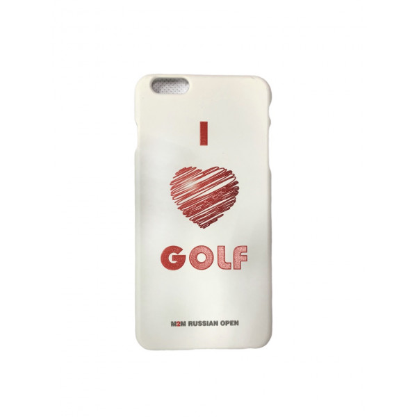 Чехол для iphone 6+/love golf м2м