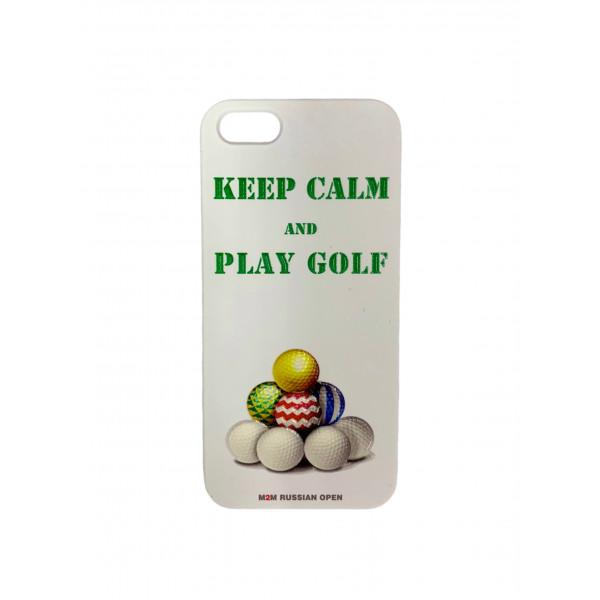 Чехол для iphone 5/5 Keep calm м2м