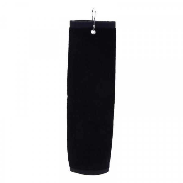 Полотенце ACM'9  Golf Towel под лого (черный) 504798