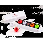 Подарочный набор мячей Volvik'20  Happy B-day (4шт/уп + маркер) VV0000710