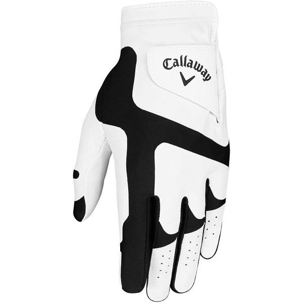 Перчатка (муж) Callaway'20  Opti Fit  5319236 (белый/черный) RH
