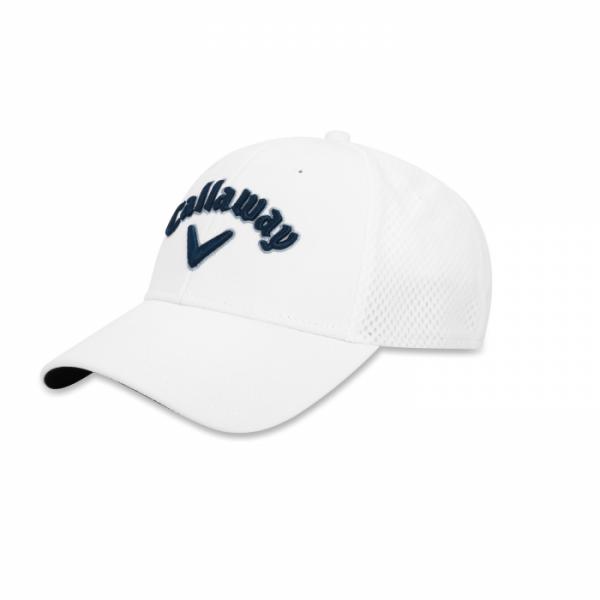 Бейсболка Callaway'20 MESH FITTED  5219030 (белый/синий/серый)