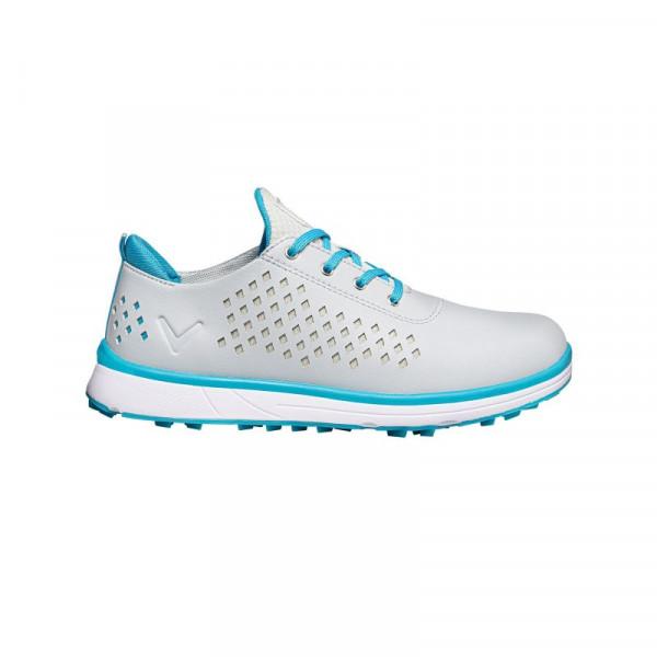 Ботинки (жен) Callaway'20  Halo Diamond (серый/голубой) W635-289