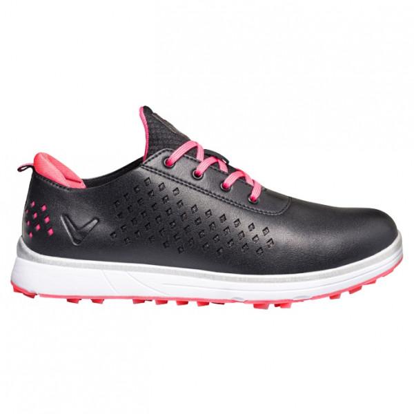 Ботинки (жен) Callaway'20  Halo Diamond (черный/розовый) W635-09