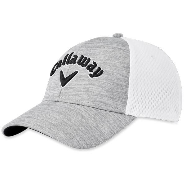 Бейсболка Callaway'20 MESH FITTED  5219029 (белый/синий/серый)