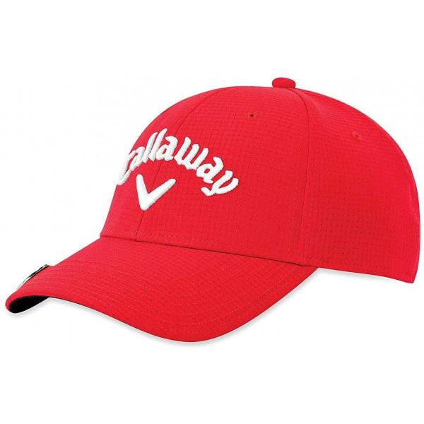 Бейсболка Callaway'20 STITCH MAGNET  5219086  (красный)
