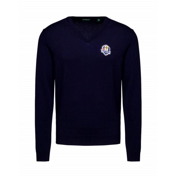Пуловер (муж) Chervo'20  Ryder Cup NOVITARYD (599) темно-синий, 64578
