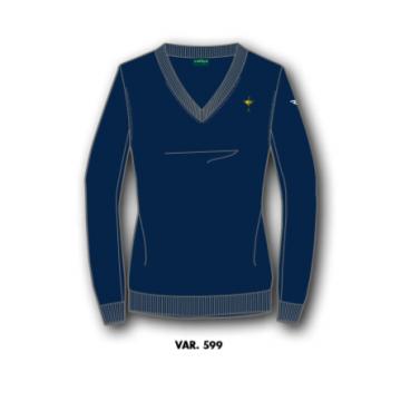 Пуловер (жен) Chervo'20  Ryder Cup NENARYD (599) темно-синий, 64586
