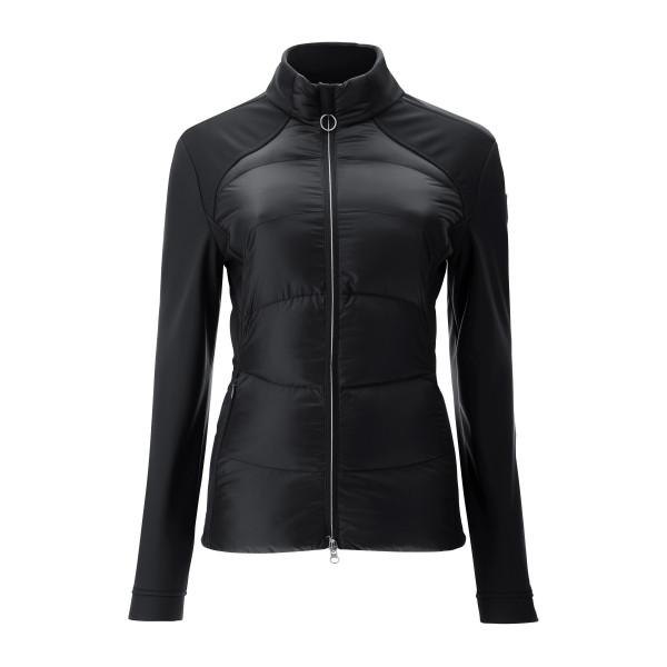 Куртка (жен) Chervo'20 MILENA (999) черный, 64552