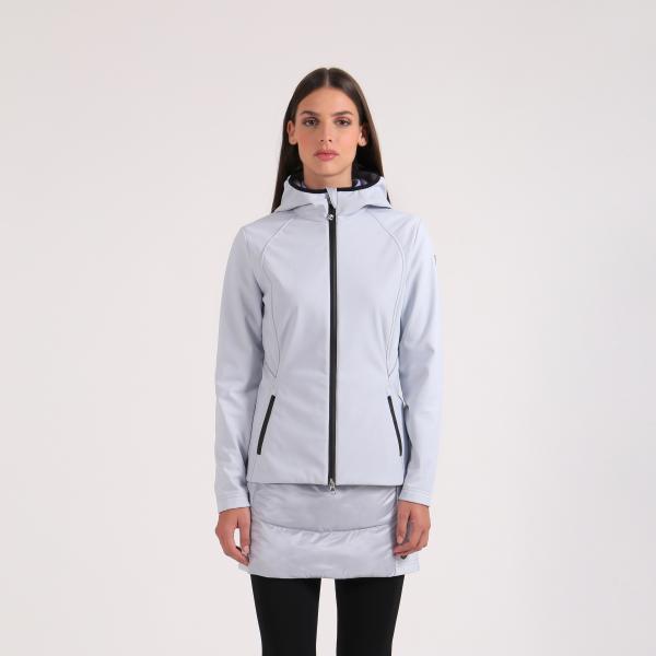 Куртка (жен) Chervo'20  MICAELA (114) серый, 64550