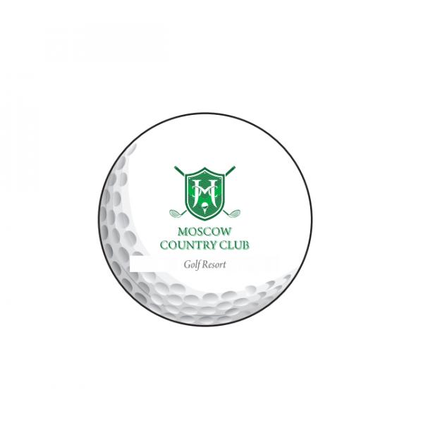 Мяч Srixon'20  SoftFeel 11 (12) белый 2pc logo MCC 3 шт/упак
