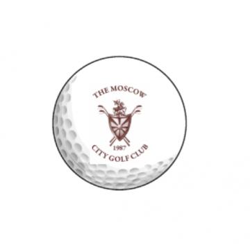 Мяч Srixon'20  SoftFeel 11 (12) белый 2pc logo MCGC 3 шт/упак