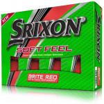 Мяч Srixon'20  SoftFeel 11 (3шт/уп) красный 2pc