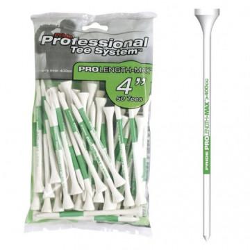 Ти Golf Pride'21 4 (50шт) деревянные (101мм) белый/зеленый 194226