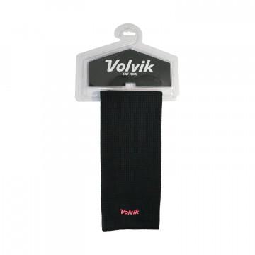 Полотенце Volvik'21  MICROFIBER TOWEL (черный/розовый) VV5000007