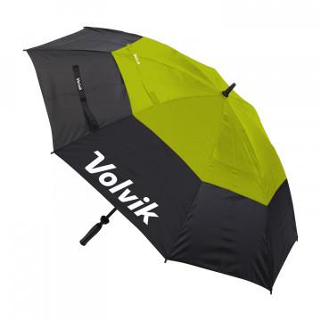 """Зонт Volvik'21  UMBRELLA 64"""" (черный/лайм) 051561"""