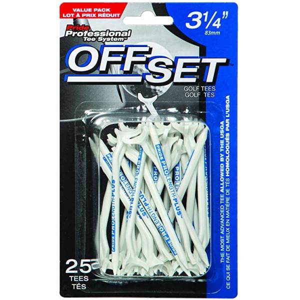 Ти Golf Pride'21 OFFSET 3-1/4 (15шт) пластиковые (белый/синий) TS6208002