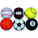 Мяч Legend'21 (6шт/уп) SPORT MIX LE2200010