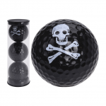 Мяч Legend'21  SKULL (black)  (3шт/уп) tubus LE2200035