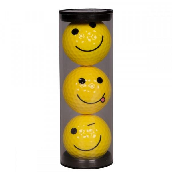 Мяч Legend'21  SMILEY FACE (3шт/уп) tubus LE2200039
